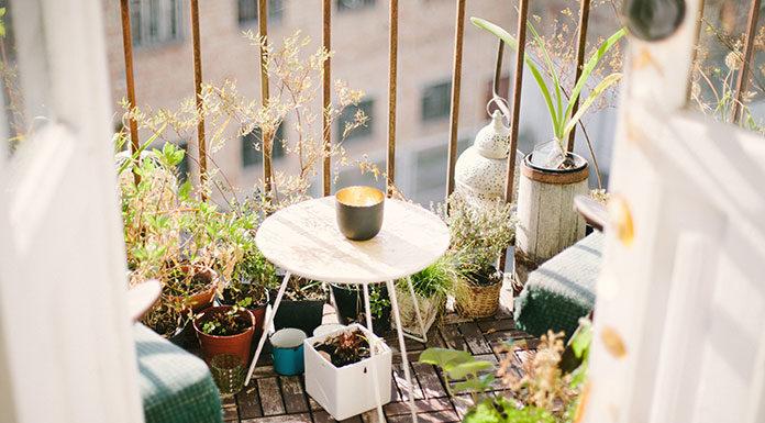 Balkon w bloku - inspiracje